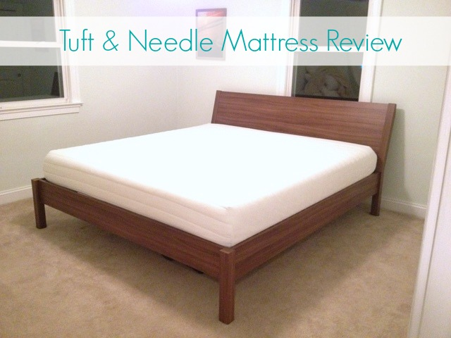 review of our american made tuft needle mattress the borrowed abodethe borrowed abode. Black Bedroom Furniture Sets. Home Design Ideas